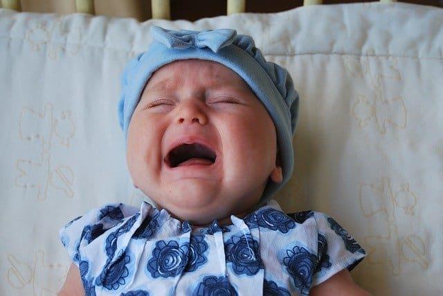 Как да спрем плача на бебето?