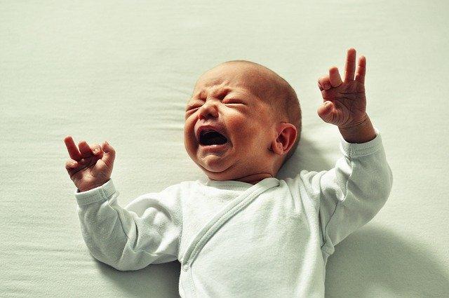 Кога плаче бебето?