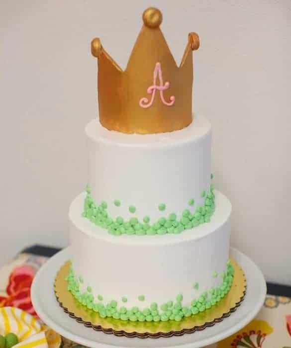 Детска торта с корона