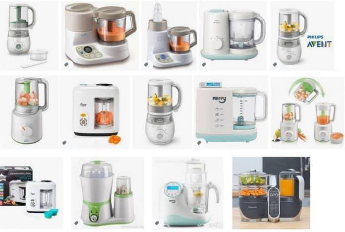 уреди за приготвяне на бебешки храни